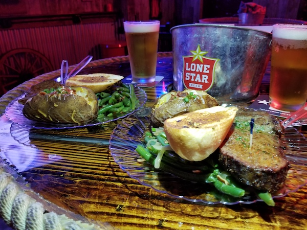 Smoked Ribeye Steak Night at Red River Ice House Sports Bar Grill